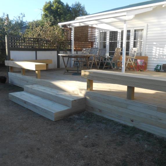 Deck built from scratch