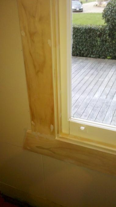 Repairs to window frames